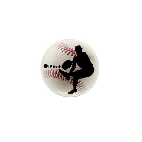 iPitch Baseball Mini Button (10 pack)
