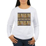 Egyptian Hieroglyphics Women's Long Sleeve T-Shirt