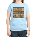 Egyptian Hieroglyphics Women's Light T-Shirt
