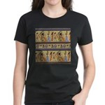 Egyptian Hieroglyphics Women's Dark T-Shirt
