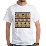 Egyptian Hieroglyphics White T-Shirt