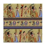 Egyptian Hieroglyphics Tile Coaster