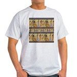 Egyptian Hieroglyphics Light T-Shirt