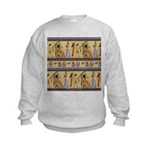 Egyptian Hieroglyphics Kids Sweatshirt