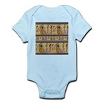Egyptian Hieroglyphics Infant Bodysuit