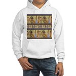 Egyptian Hieroglyphics Hooded Sweatshirt