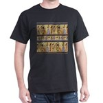 Egyptian Hieroglyphics Dark T-Shirt