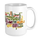 Declaration of Independence Large Mug
