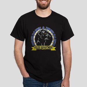 Police K9 Labrador Retriever Dark T-Shirt