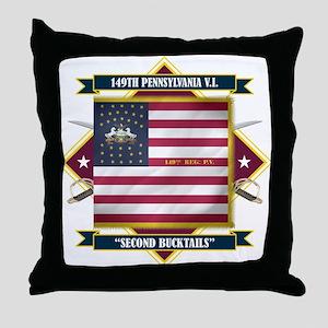 149th Pennsylvania Throw Pillow