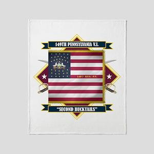 149th Pennsylvania Throw Blanket