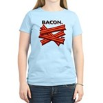 BACON. - Women's Light T-Shirt