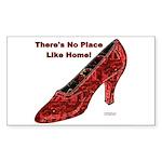 No Place Like Home Sticker (Rectangle)
