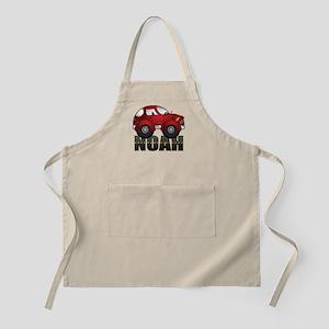 Noah Red Car Apron