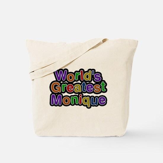 Worlds Greatest Monique Tote Bag