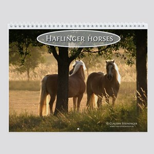 Haflinger horse Wall Calendar