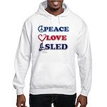 Snowmobiling is Life Live IT Hooded Sweatshirt