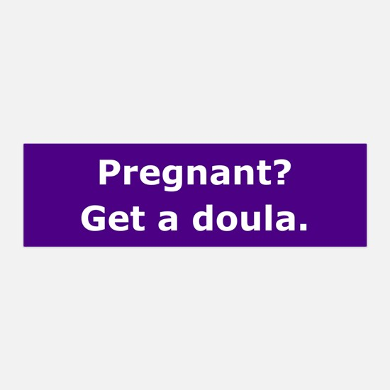 Get a Doula 36x11 Wall Peel