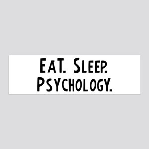 Eat, Sleep, Psychology 36x11 Wall Peel