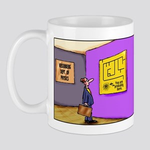 Heisenberg Department of Physics mug (left-handed)