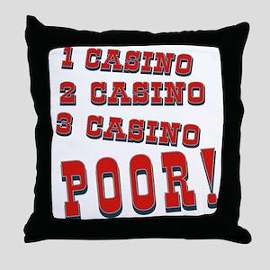 Casino Throw Pillow