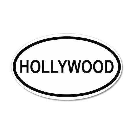 Hollywood 20x12 Oval Wall Peel