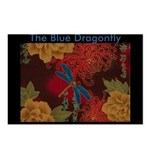 The Blue Dragonfly Postcards (Package of 8)