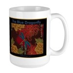 The Blue Dragonfly Large Mug