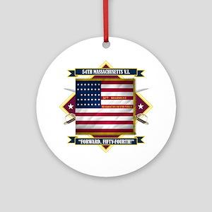 54th Massachusetts Ornament (Round)