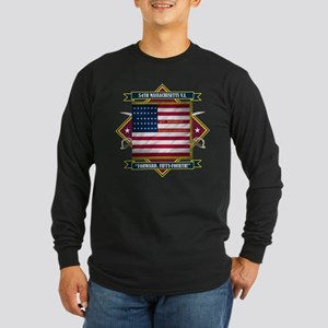 54th Massachusetts Long Sleeve Dark T-Shirt