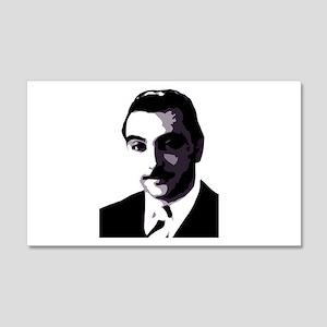 Django face 20x12 Wall Peel
