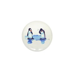 pEnGuIn tEaRs Mini Button (10 pack)