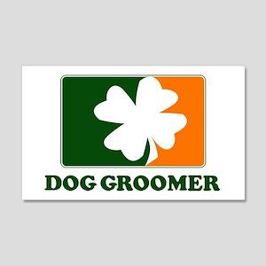 Irish DOG GROOMER 20x12 Wall Peel