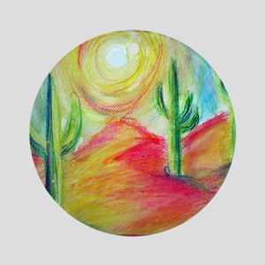 Desert, Bright, Ornament (Round)