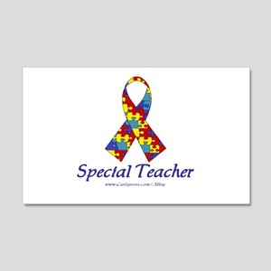 Special Teacher 20x12 Wall Peel