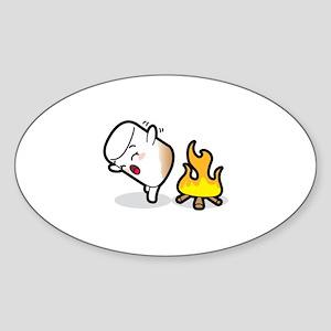 Toasty Buns Marshmallow Baby Art Sticker