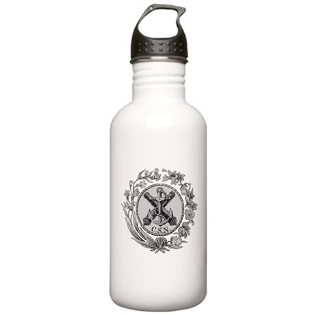 Confederate States Navy Stainless Water Bottle 1.0