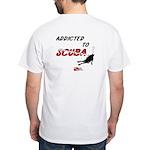 Addicted to Scuba White T-Shirt