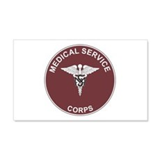 MEDICAL-SERVICE-CORPS 20x12 Wall Peel