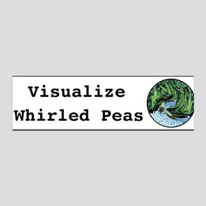 Visualize Whirled Peas 36x11 Wall Peel
