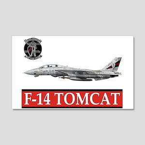 VF-154 Black Knights 20x12 Wall Peel