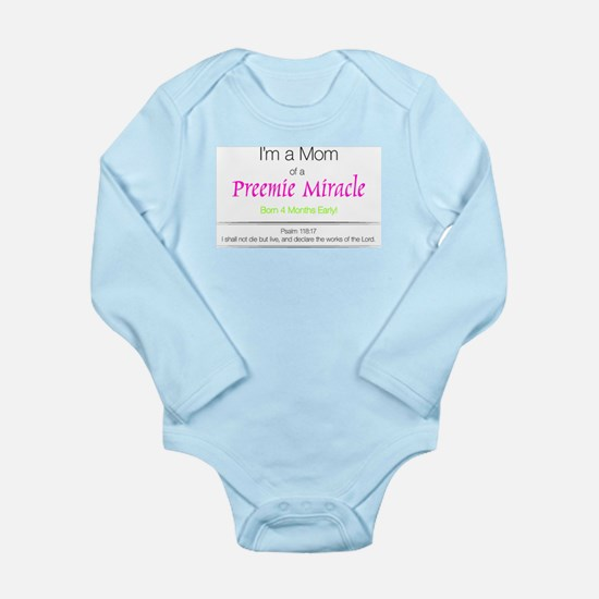 Unique Nicu Long Sleeve Infant Bodysuit