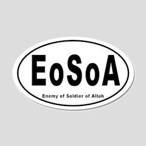 EoSoA 20x12 Oval Wall Peel