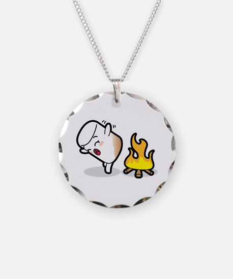 Toasty Buns Marshmallow Baby Necklace