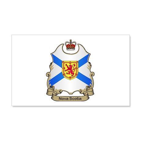 Nova Scotia Shield 20x12 Wall Peel