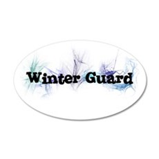 Winter Guard 20x12 Oval Wall Peel