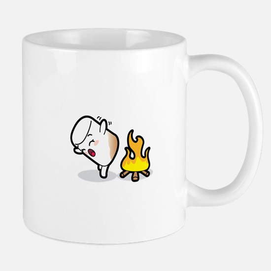 Toasty Buns Marshmallow Baby Art Mugs