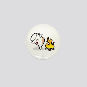 Toasty Buns Marshmallow Baby Art Mini Button
