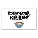 Cereal Killer Sticker (Rectangle 50 pk)