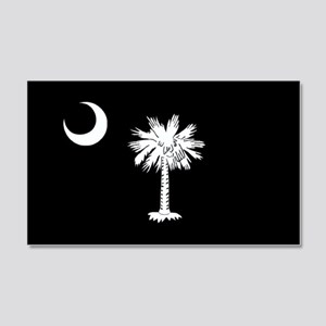 South Carolina Flag 20x12 Wall Peel